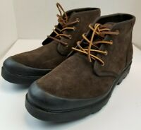 Polo Ralph Lauren Umar Suede Boots Mens size 13D Dark Brown