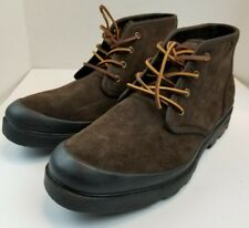Polo Ralph Lauren Umar Suede Boots Mens size 13D Dark Brown