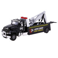 Simulated 1/50 Diecast Tow Truck Wrecker Road Rescue Vehicle Toys Car Kids