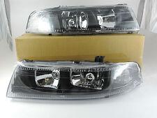 1998-2001 Lancer Evolution Evo V VI 5 6  Black Head Light 98 99 00 01