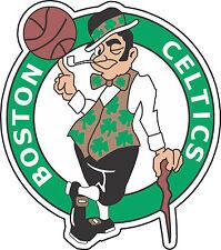 "Boston Celtics NBA Basketball Bumper sticker, wall decor, vinyl decal, 5""x 4.5"""