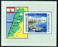 More details for sod lebanon 1967 international tourist year (2nd issue) imperf ss mnh ms980a £33