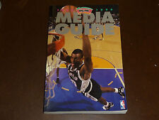 1995 1996 SAN ANTONIO SPURS NBA BASKETBALL  MEDIA GUIDE DAVID ROBINSON NEAR MINT