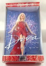 2002 Barbie Doll Blonde Red Hot Diva Collection 56707 Collector Edition
