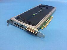 NVIDIA Quadro 4000 2GB GDDR5 PCIe Gen 2 x16 DVI-I Dual DisplayPort OpenGL CUDA