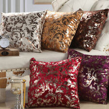 Luxury Shiny Bling Velvet Cushion Cover Throw Pillow Case Home Car Sofa Decor