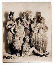 U087 Photographie vintage Originale Bal des Quat'z'Arts déguisement fête