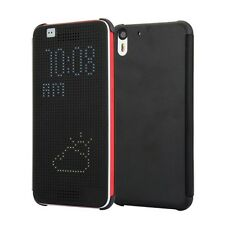 CUSTODIA ORIGINALE INVENTCASE ® per HTC DESIRE EYE DOT VIEW HC M160 SMART NERO
