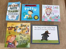 Potty Training Book Bundle Oh Crap! Pirate Pete Lulu's Loo Little Mole Suzy Sue