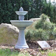 Etagenbrunnen Solar Brunnen Garten Wasserspiel außen solarbetrieben Komplettset
