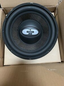 "CDT AUDIO 10"" HIGH DEF SUBWOOFER. 500 WATT CARBON FIBER AUDIOPHILE SOUND QUALITY"