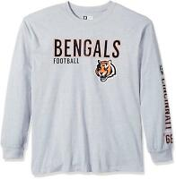 Profile Big & Tall NFL Long Sleeve Two Hit Screen Tee Men's XL+ *Select Team*