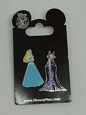 New Disney Aurora and Maleficent Pin Set