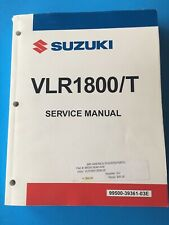 08 09 SUZUKI MOTORCYCLE VLR1800/T VLR OWNERS SERVICE MANUAL P/N 99500 39361 03E