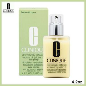 Clinique Dramatically Different Moisturizing Lotion with Pump 4.2 Oz/125ml BOXED