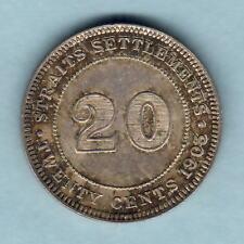 New listing Straits Settlements. 1903 20 Cents. Near Full Lustre. gEf/aUnc