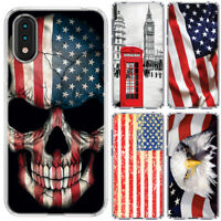 for Samsung Galaxy A01(Clear) ShockProof TPU Bumper Skin Phone Case Cover-C