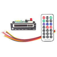 Bluetooth MP3 WMA Decoder Board Stereo Audio Module USB TF FM Radio AUX For Car