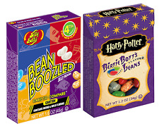 1 BOX BEAN BOOZLED JELLY BEANS  1.6oz, AND 1 BOX HARRY POTTER BERTIE BOTT'S