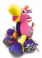 TOMY LAMAZE Pink Trotter The Pony Horse Sensory Baby Soft Toy With Sounds