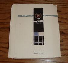 Original 1990 Cadillac Seville Owners Operators Manual 90