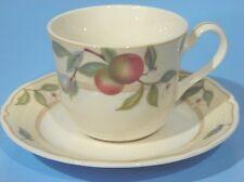 4 CUPs & SAUCERs NORITAKE HOMECRAFT 9234 FRUIT CANYON  Retired Discoed Rare Java