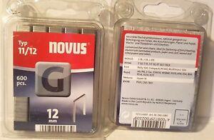 Tacker  Klammern  Novus  11/  12mm   600 Stück   042-0387     R311,R-54 J-16