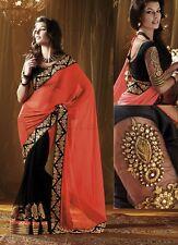 Veeraa Saree Exclusive Beautiful Designer Bollywood Indian Partywear Sari 107
