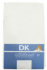 DK GOTS Certified Organic Cotton Fitted Blue Stripe /& Cream Cot Bed Sheets