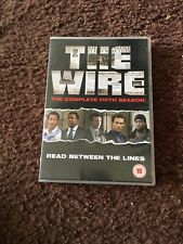 The Wire - Series 5 - Complete (DVD, 2008, 4-Disc Set, Box Set)
