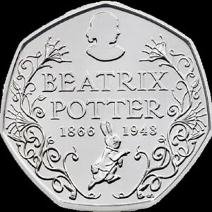 2016 BEATRIX POTTER 150TH ANNIVERSARY UNCIRCULATED - OFFICIAL UK ISSUE