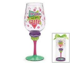 Party Glass. Drink Til He's Cute.