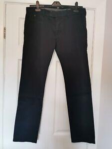 "Diesel Jeans Chinos. 34"" Waist (but tag says 32"") 31"" Leg. Slim Fit. Navy Blue"