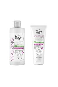 Farmasi Dr. C. Tuna ReVitalizing Garlic&Capixyl Hair Care SET ! Shampoo +Mask