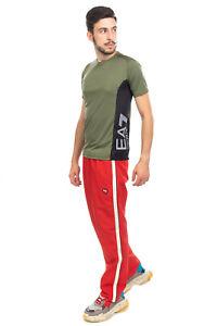 EMPORIO ARMANI EA7 VENTUS 7 T-Shirt Top Size S Mesh Inserts Coated Logo