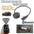 Input Audio Wireless Bluetooth USB-Adapter Music AUX Cable For Mercedes Benz MMI