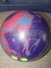 New listing Ebonite Maverick Bowling Ball 14lb