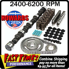 """HOWARD'S BBC Chevy Big Daddy Rattler 297/305 545""""/561""""109° Comp Cam Camshaft Kit"""