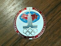 badge USSR OLYMPIC GAMES 1980 Moscow - Talin XXII