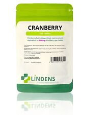 Lindens Cranberry Juice 5000mg 100 Tablets Diuretic Urinary Tract Infection Ut1
