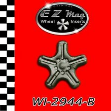 WI2944B Slotted Euro-Style Wheel EZ Mag Wheel Inserts Fits H&R Chassis Slot Cars