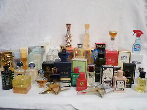 32 Parfumminiaturen , teiweise mit Verpackung ,schöne Düfte dabei , reinschauen