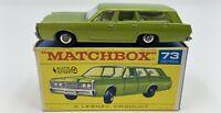 Matchbox No. 73 1968 Mercury in Original 'F1' Box