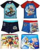 Boys Girls Official Various Character Swimming Shorts / UV Protection T Shirt
