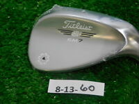 Titleist Vokey SM7 Tour Chrome 56* 14* Sand Wedge F Grind Dynamic Gold Steel New