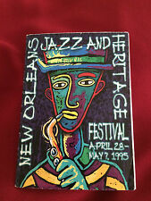 New Orleans Jazz & Heritage Festival Schedule 1995 Free Shipping