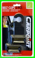 Une paire de ceinture sécurité clip [SKK1] noir ceinture clips pour voitures, vans, etc.