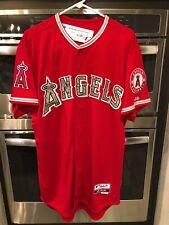 Authentic Los Angeles Angels Anaheim Jersey 44 Majestic New USMC Camo Califo