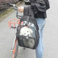 KQ_ Portable Pet Backpack Kitten Cat Carrier Space Capsule Bag Dog Puppy Travel