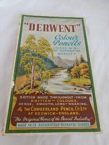 Vintage Derwent Colour Pencil Set (Series No 19), by Cumberland Pencil Co Ltd,